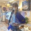 凄い‼️100本の青い薔薇‼️誕生日プレゼント‼️スピリチュアルカウンセラー片山鶴子ユタ、新御徒町