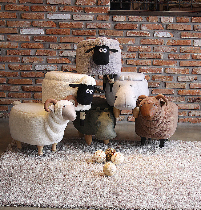 GoBuyKorea 仕入れ代行 スツール 家具の配置
