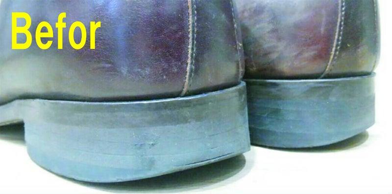 豊中で紳士靴の修理かかとの修理1足両足1,500+税~