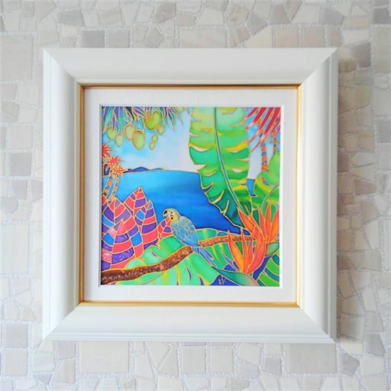 トロピカル 南の島の絵