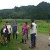雨の野山お出かけ講習会
