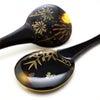 夏の風物詩、蛍と団扇の涼しげなべっ甲蛍螺鈿金蒔絵団扇かんざし2020|夏の装いにおすすめ。の画像