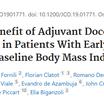 体型で抗がん剤(ドセタキセル)の効果に違いがある