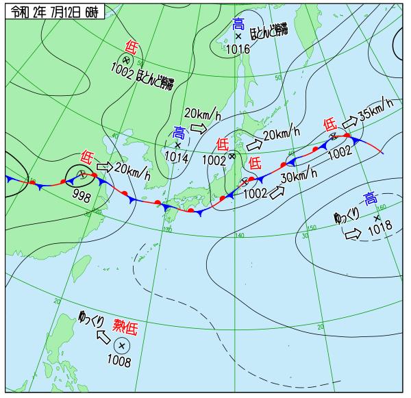 来週梅雨明け