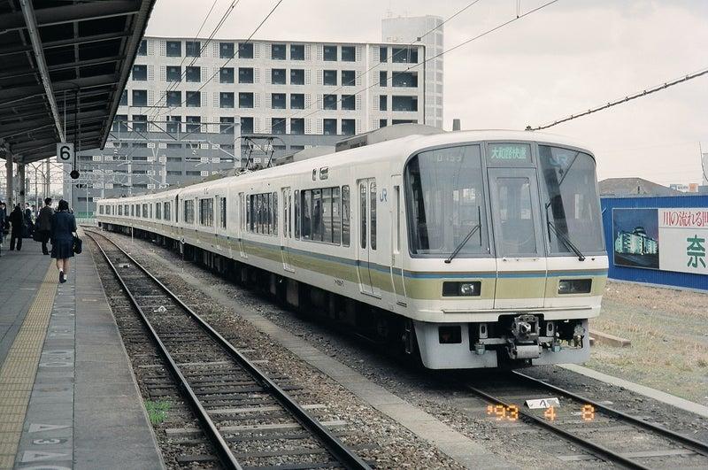 地平時代の奈良駅と221系(2両+4両) | 懐かしの画像から hide急行ブログ