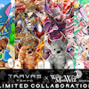 TRAVAS TOKYO × 魔法使いと黒猫のウィズ SPECIAL COLLABORATIONの画像