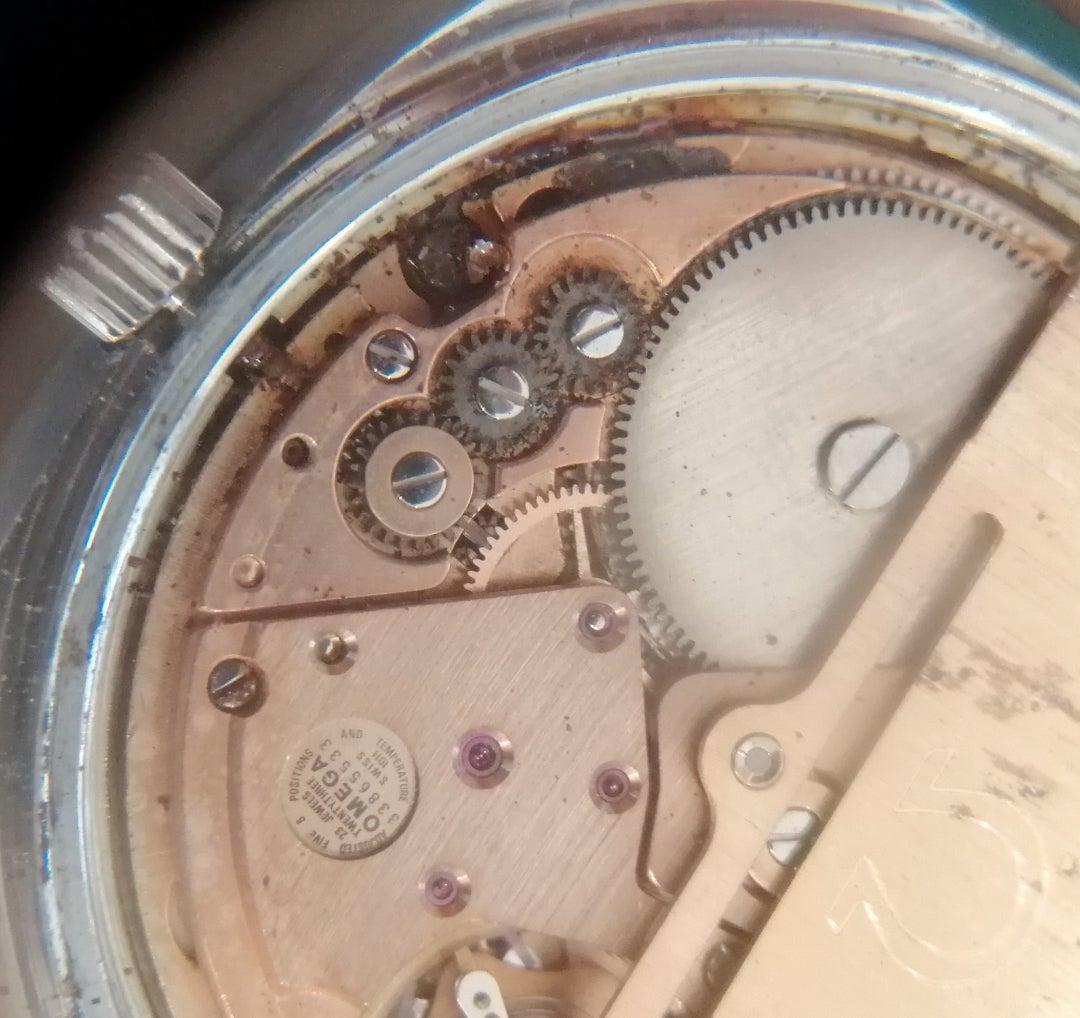 鳥栖市のめがね・時計修理販売のお店 いとおのブログOMEGA コンステレーション 自動巻き サビ除去修理