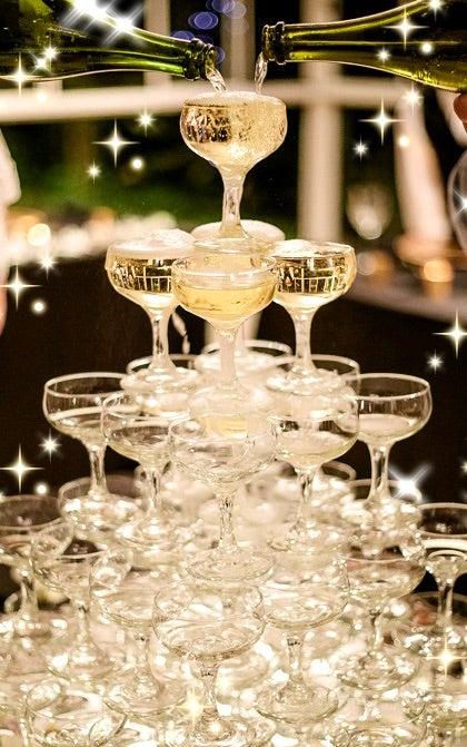 の シャンパン 法則 タワー シャンパンタワーの法則のウソ。