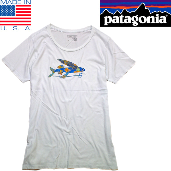 パタゴニアPatagoniaプリントTシャツ古着屋カチカチ