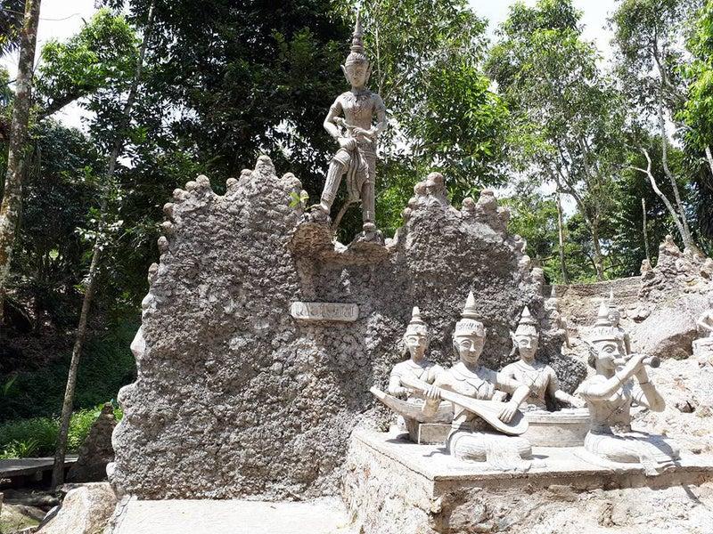 マジックガーデン秘密の仏像
