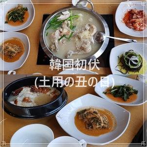 今日は韓国初伏の日!栄養をつけましょう!の画像
