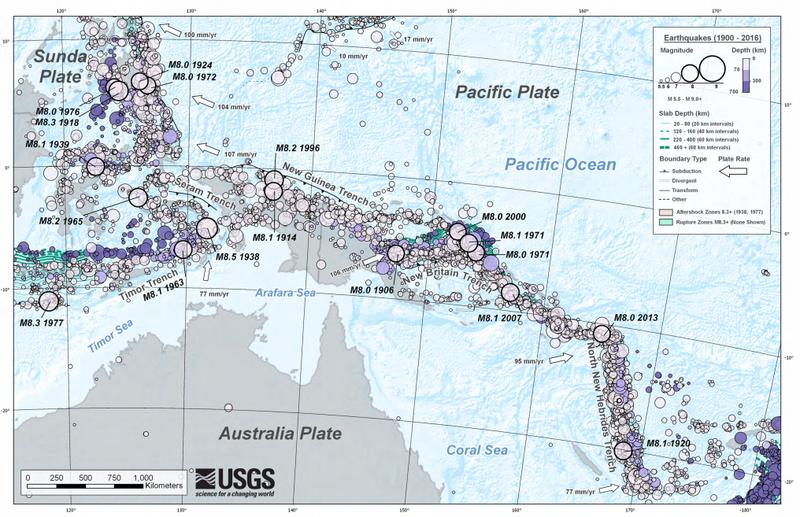 地震 オーストラリア