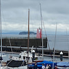 7月18日    雨の葉山港の画像