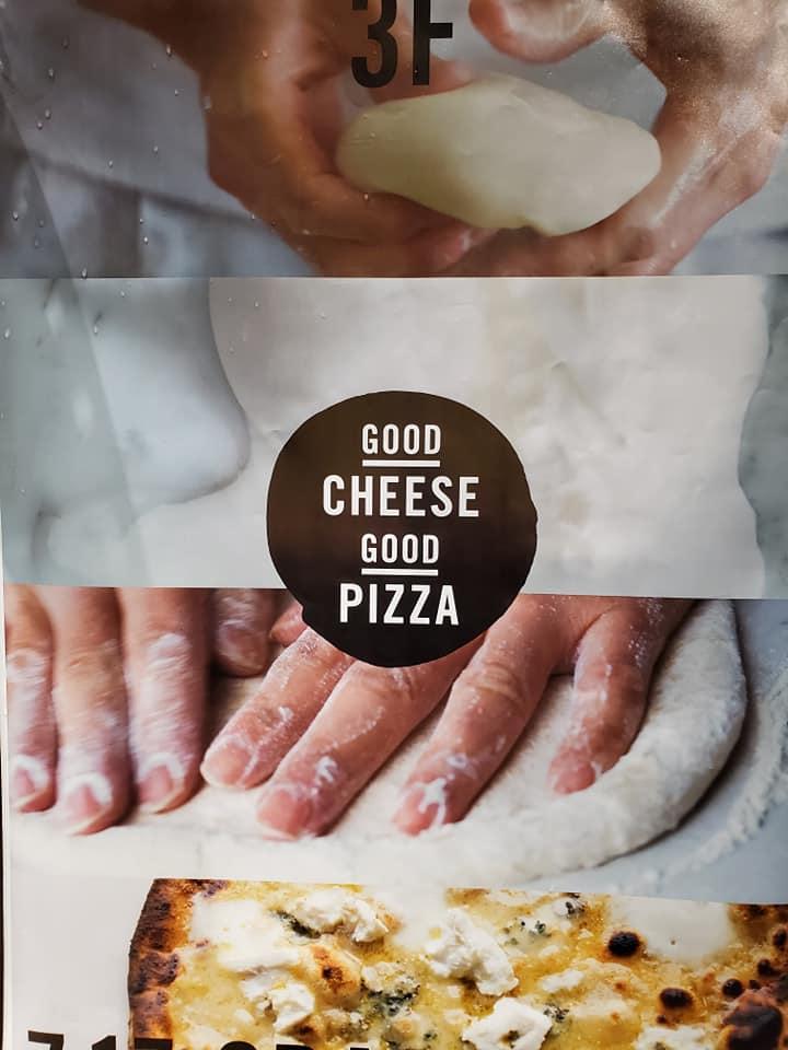 あの人気カフェがピッツァダイニングにリニューアル『GOOD CHEESE GOOD PIZZA』