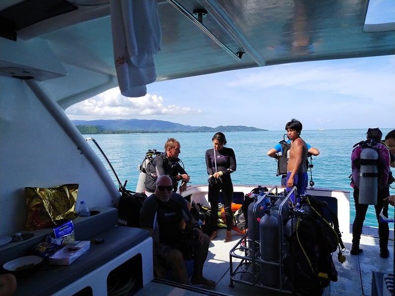 タン島ダイビング