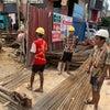 視察②ミャンマー建設現場視察の画像