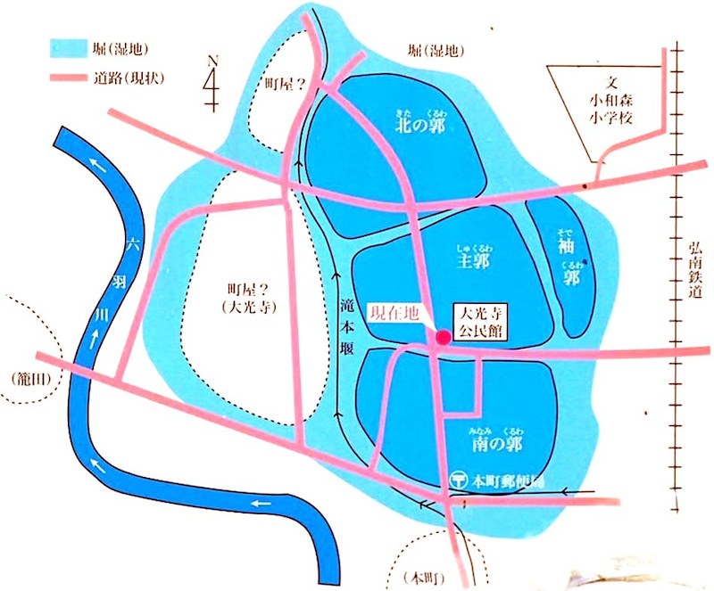 大光寺城【図】