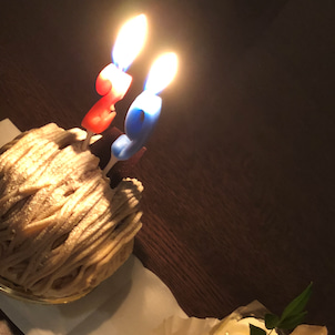 誕生日を迎えました!!の画像