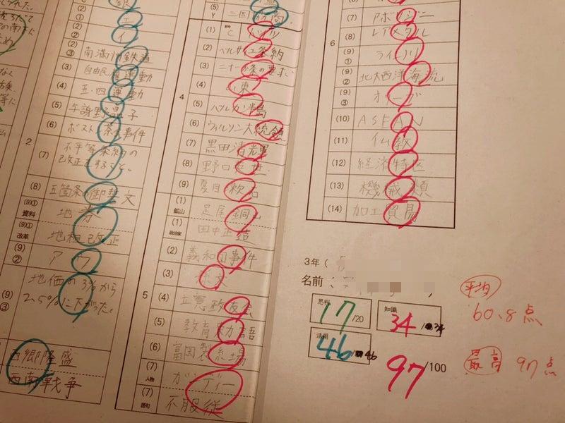 期末 テスト