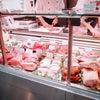 トロントのスーパーで生ハムの量り売りの画像