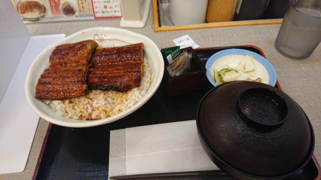 candiceのブログ【マジカル松屋】今日の晩飯【うな丼ダブルご飯大盛】