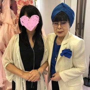 ◆憧れの桂由美先生とお城のような桂由美ブライダルハウスにての画像