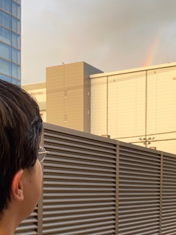 茨木市畑田町 虹