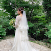 結婚式出張ヘアメイクBlog/ レトロな洋館での家族婚の花嫁の画像