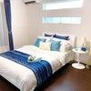 【事例】『海沿いのリゾートホテルで読書を楽しむゆったり時間』~寝室編~の画像