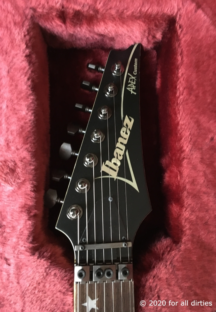 Ibanez Apex 1 Munky Signature 7-string guitar