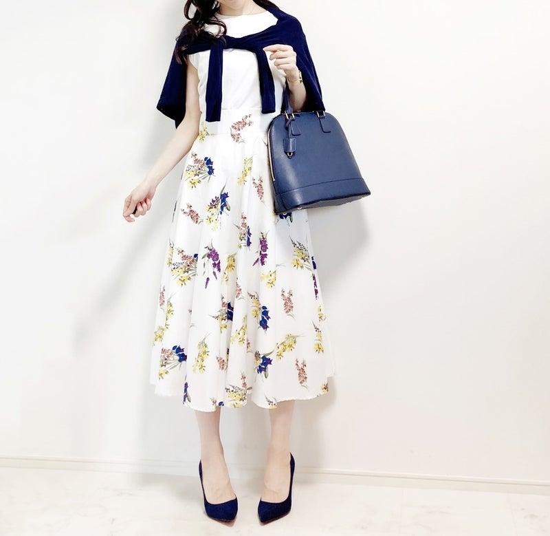 ユニクロ 花 柄 スカート