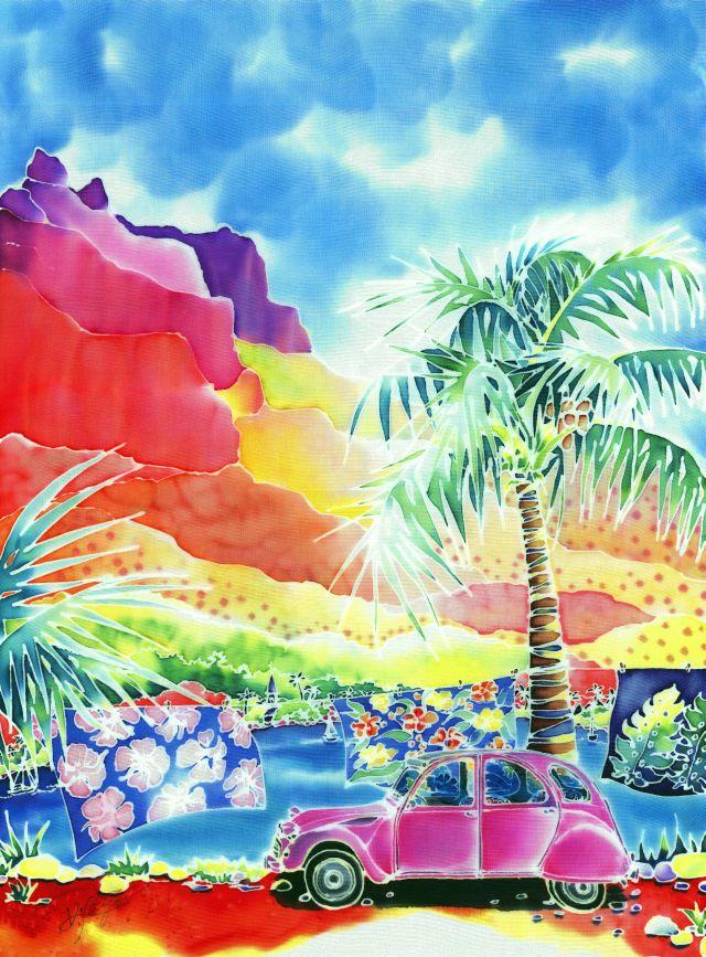 風の島モーレア