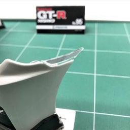画像 【デアゴスティーニ68】GT-R NISMO第95号 フロントバンパーを組み合わせる。 の記事より 6つ目