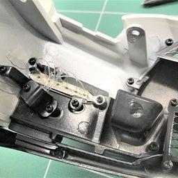 画像 【デアゴスティーニ68】GT-R NISMO第95号 フロントバンパーを組み合わせる。 の記事より 12つ目