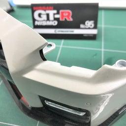 画像 【デアゴスティーニ68】GT-R NISMO第95号 フロントバンパーを組み合わせる。 の記事より 14つ目