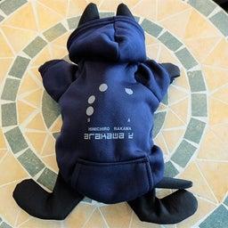 画像 【SHINICHIRO ARAKAWA】猫タンクバッグ用フードパーカー入荷しました! の記事より 3つ目