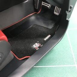 画像 【デアゴスティーニ69】GT-R NISMO 第96号 フロアカーペットを組み立てる。 の記事より 5つ目