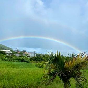 台風4号接近中の石垣島