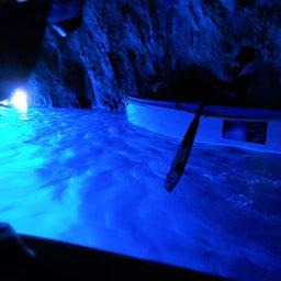 画像 イタリア・カプリ島の青の洞窟は、第三の目が活性化する場所! の記事より 1つ目
