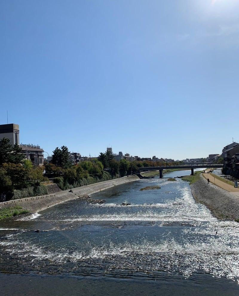 京都祇園四条 鴨川