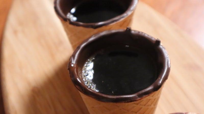 お取り寄せ(楽天) 100%映える★ コーンカップ CHOCAP (チョカップ) ワッフルコーン 12個 価格2,980円 (税込)