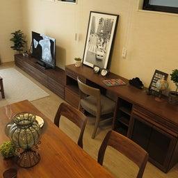 画像 マンションの家具の配置提案 ④ リビングと隣接する洋室とつなげて家具を配置!家具の配置換え提案も の記事より 17つ目