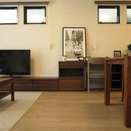 画像 マンションの家具の配置提案 ④ リビングと隣接する洋室とつなげて家具を配置!家具の配置換え提案も の記事より 16つ目