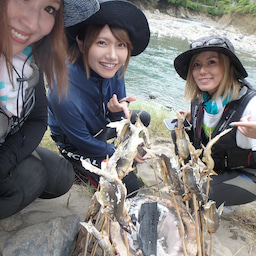 画像 鮎釣りしながら、その場で食べる! の記事より 9つ目