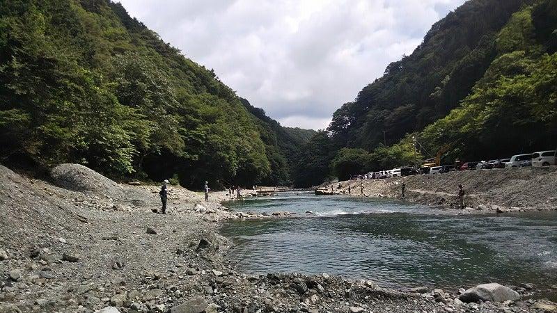 うらたん ざわ 渓流 釣り場