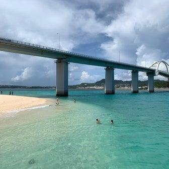 1泊2日 沖縄一人旅 ㉒瀬底大橋
