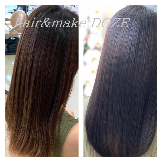 縮毛矯正をおすすめするよりも髪質再正。