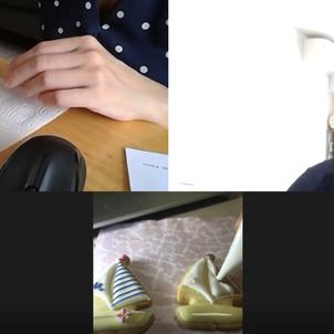 対面と変わらない形で受けることができました♪オンラインレッスンレポの画像