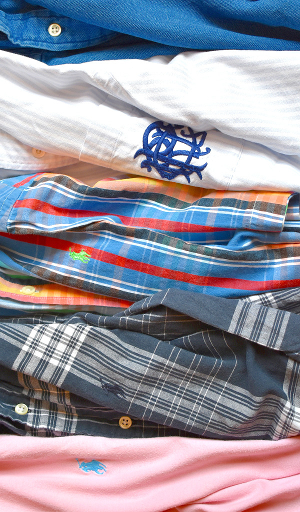POLOラルフローレン半袖シャツ古着屋カチカチ