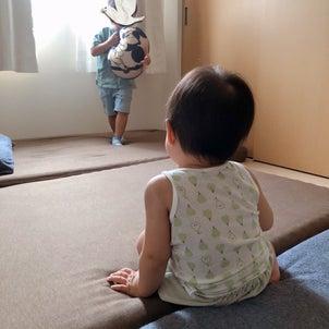 1歳のユニクロおうちコーデの画像